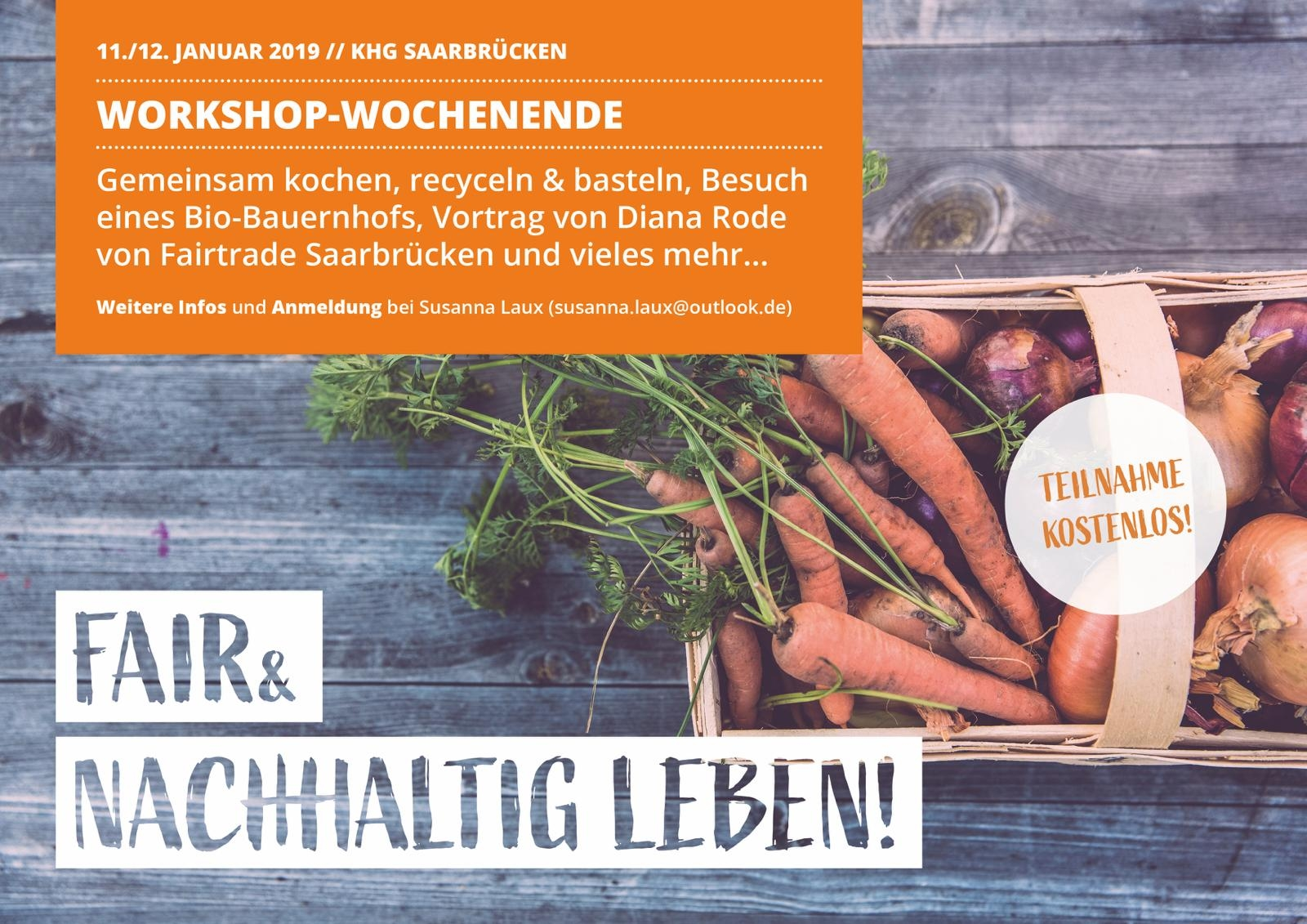 Fair-Trade Workshop-Wochenende